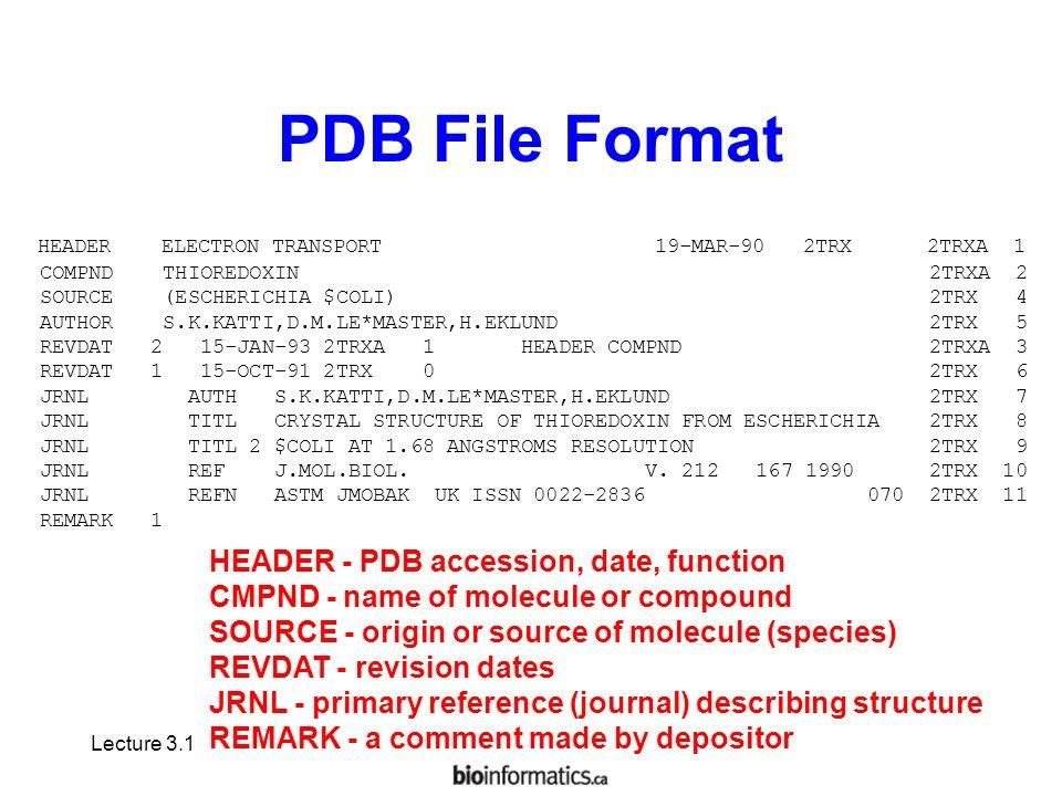 Download pdb file reader.