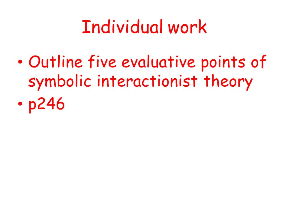 Social Action Theories Ppt Video Online Download