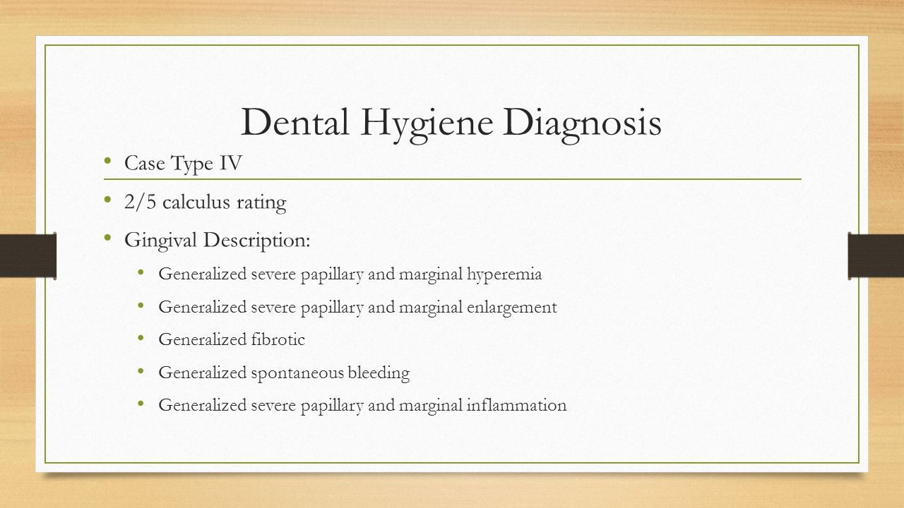 dental hygiene essay Examination specifiatwns they are typical of test items iwluded in component a  of the national board dental hygiene examination component b consists of.