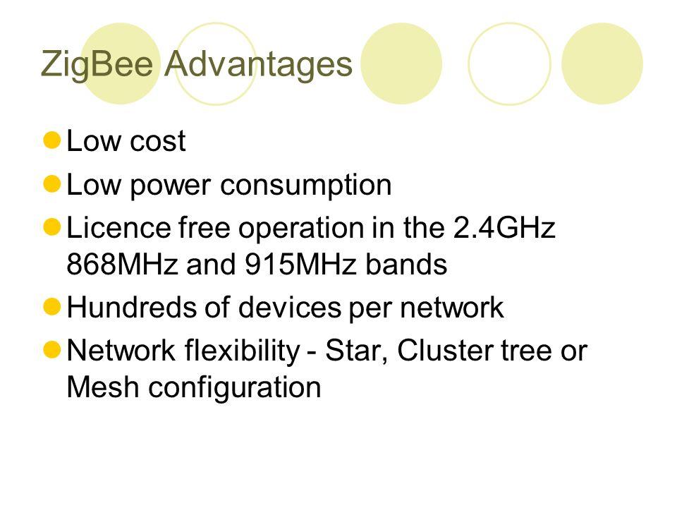 Zigbee technology 家庭網路設備設計與控制 ppt download