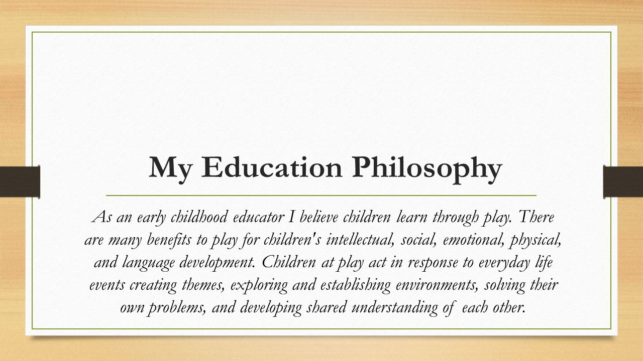 Meaning & Relationship between Philosophy and Education