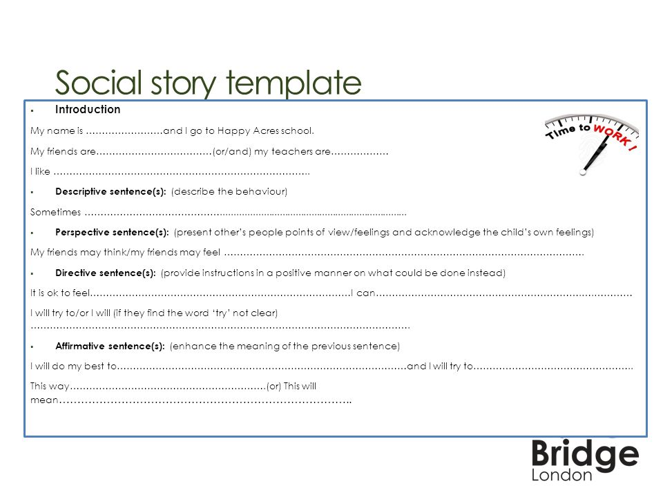 social story template - Gecce.tackletarts.co