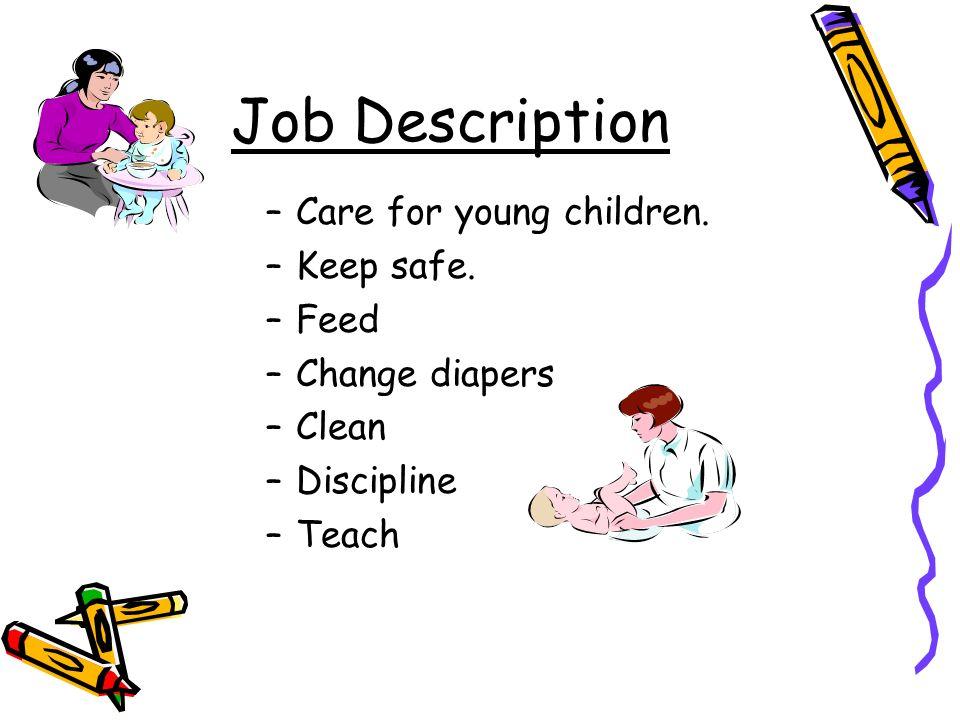 child caregiver job description
