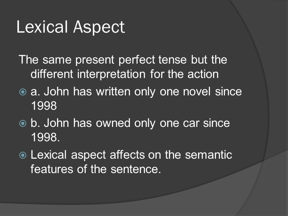 writing a novel in the present tense