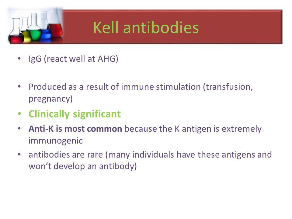 K Antigen Minor Blood Gro...