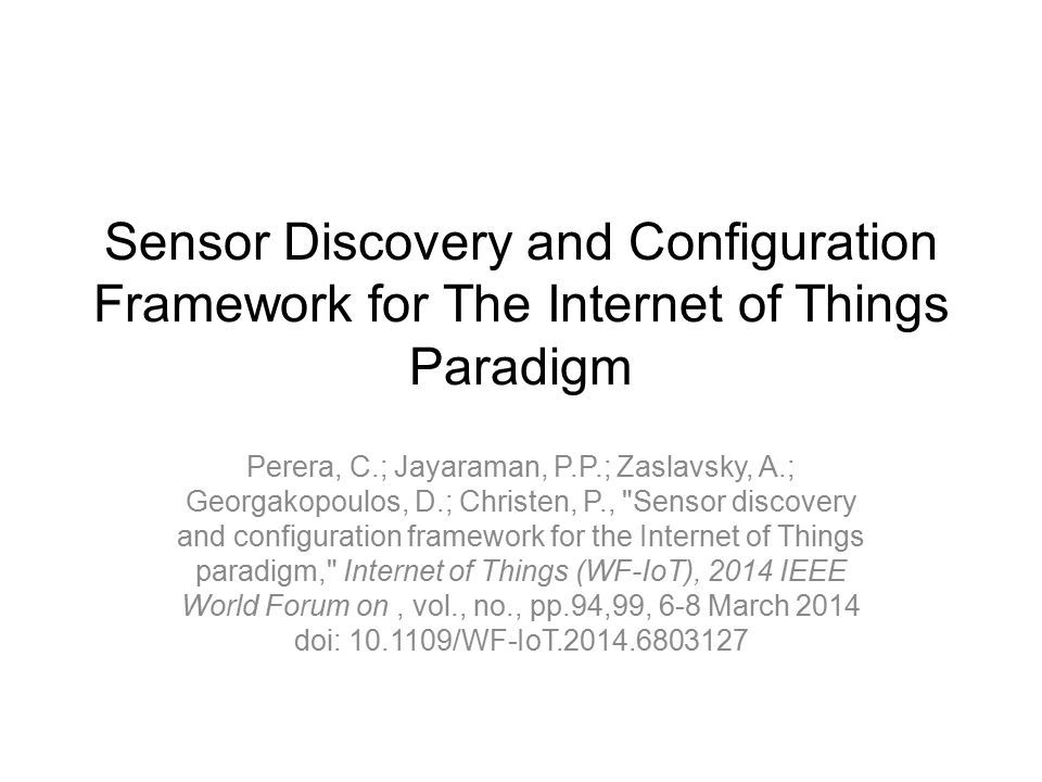 internet of things paradigm Abstract: internet has emerged as a medium to connect people across the world for emailing, conferencing, on-line trading, gaming and so on internet of things (iot) is aimed at making daily lives more sophisticated, flexible and highly reachable to any objects across the world in iot, physical .