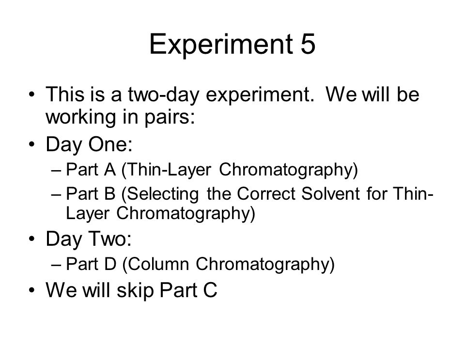 lab 1 extraction and thin layer 1 laboratory 5 extraction concept goals: correlation of structure, polarity, acid and base characteristics and  by thin layer chromatography and/or melting point determination  before.