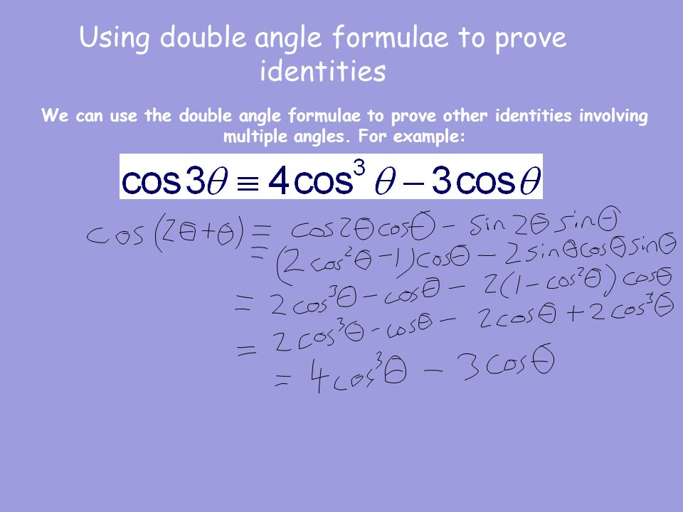 Double Angle Identities Worksheet A 13 6 Proga Info