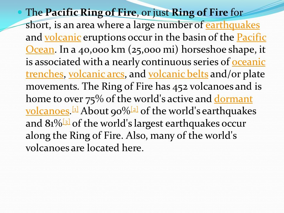 Pacific Ring Of Fire Worksheet - The Best and Most Comprehensive ...