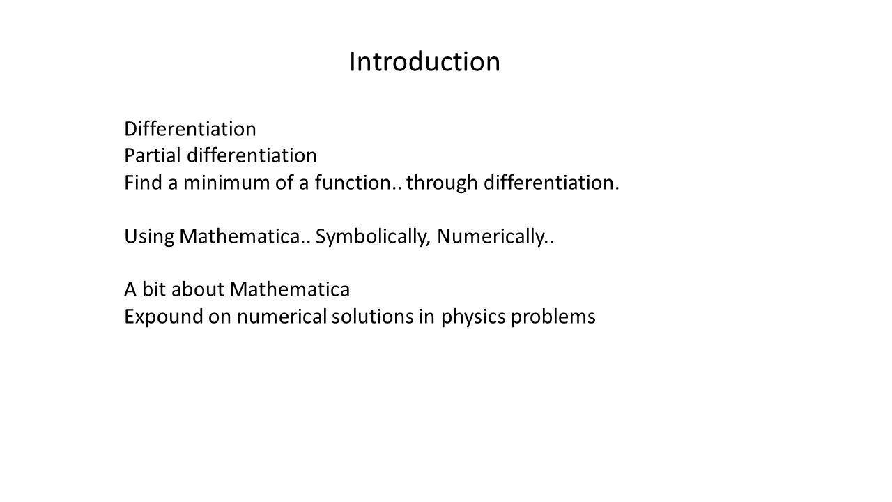 hamiltonian system introduction