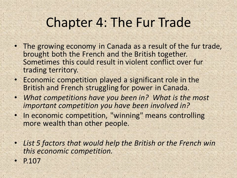the importance of fur trade for canadas economic growth As we know that the international trade and its impact on economic growth crucially depend on globalization the issues of global trade and economic growth have gained substantial importance with the introduction of trade liberalization policies in the developing nations across the world.