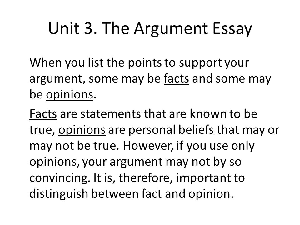three arguments essay Three arguments essay 741 words | 3 pages three arguments word critical argument analysis essay, focuses on three professional essays and how these authors construct their arguments using opinion and evidence there are many different ways in which authors can construct their arguments.