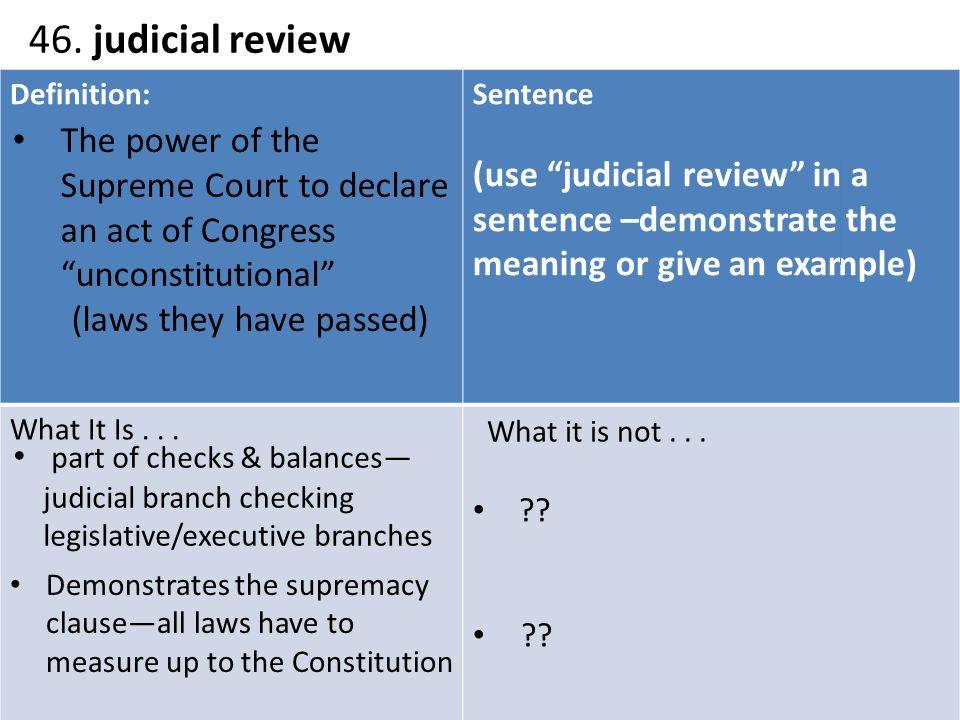 10005569 judicial review of legislation 10005569 judicial review of legislation essay a recent article in public law asks whether judicial review of legislation is undemocratic1 judicial activism.