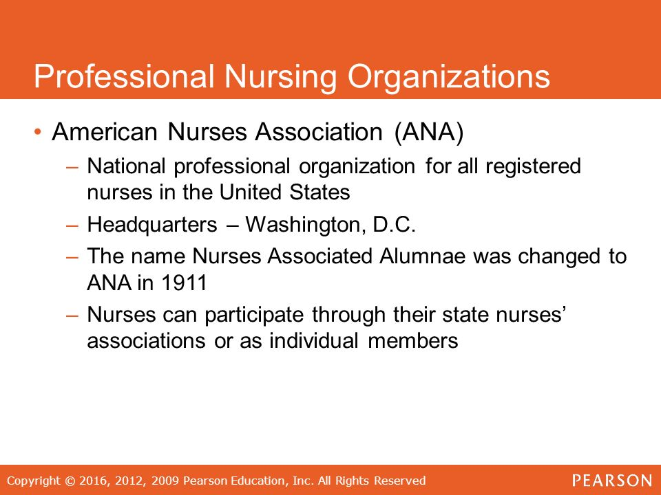 professional nursing organization aann The journal of professional nursing will accept articles that focus on baccalaureate and higher degree nursing the american association of colleges of nursing.