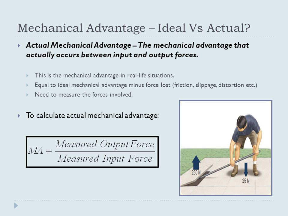 Systems In Action Mechanical Advantage - ppt video online ...