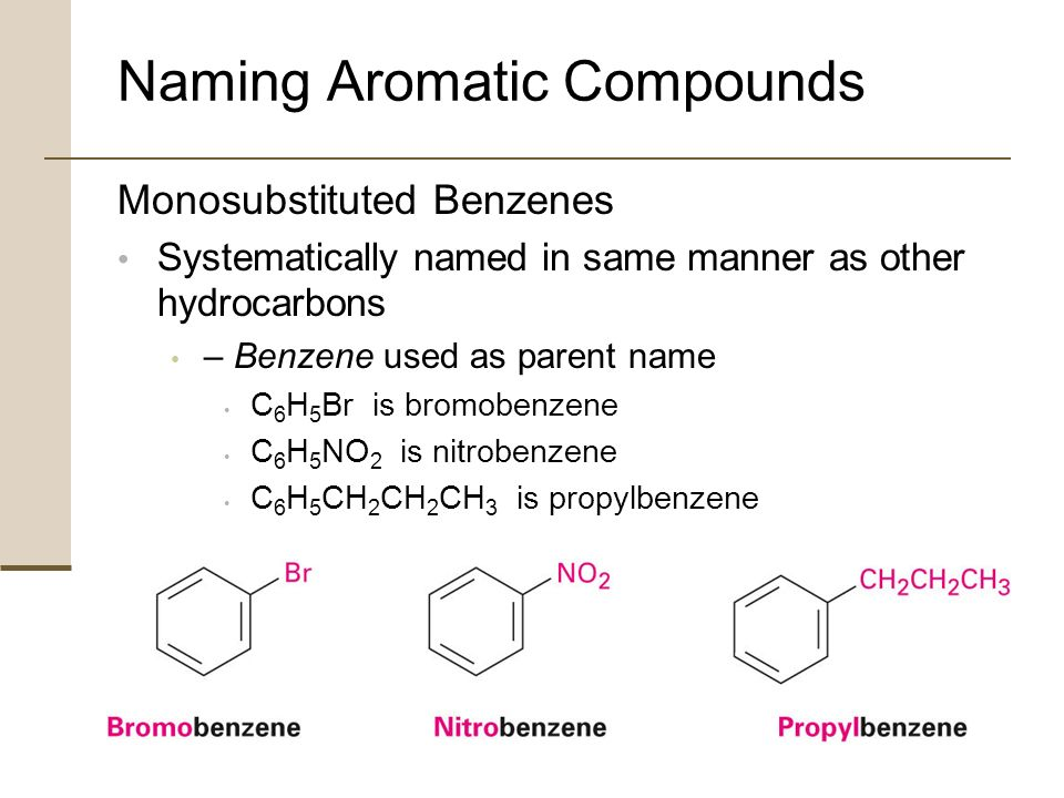18 Structure and Nomenclature of Aromatic Compounds