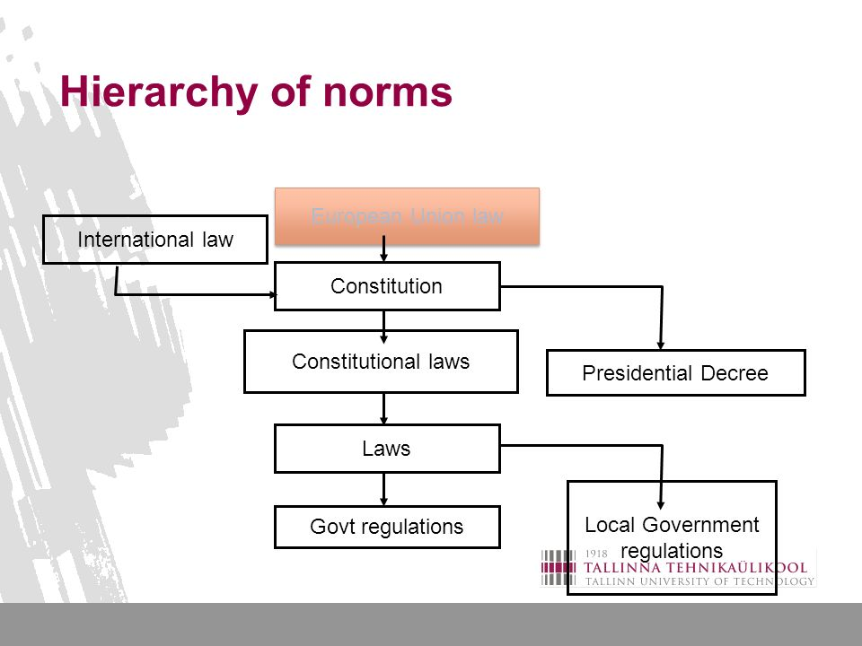 Principles and norms of international law