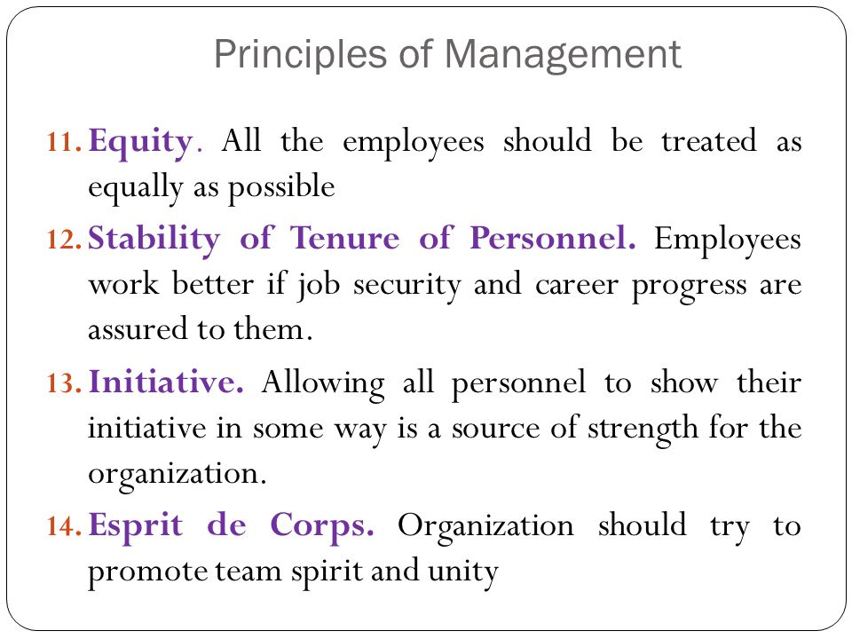 Principles of Management