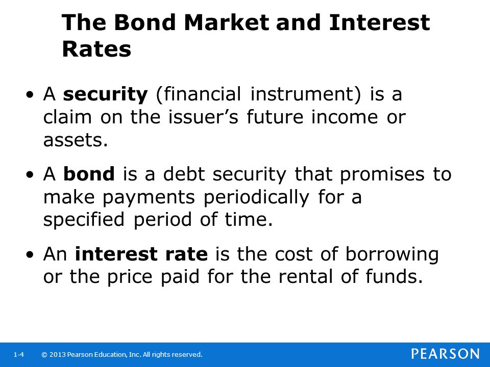 The Bond Market and Interest Rates