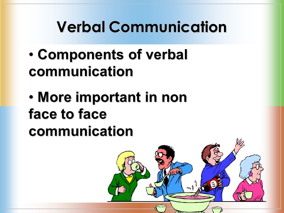 verbal and nonverbal communnication across gender The following section will provide you with information on both verbal and non-verbal communication issues in germany it focuses on the initial stage of contact as an important factor examined together with the application of communication skills in business practice in germany.