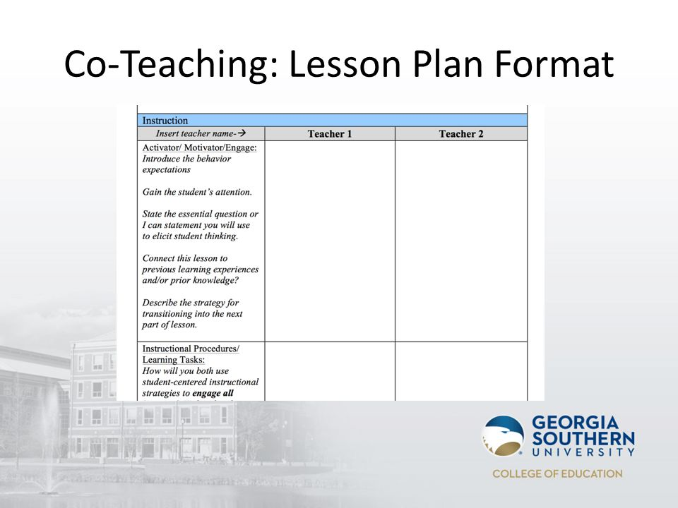 Instructional Lesson Plan Template Image Collections Template