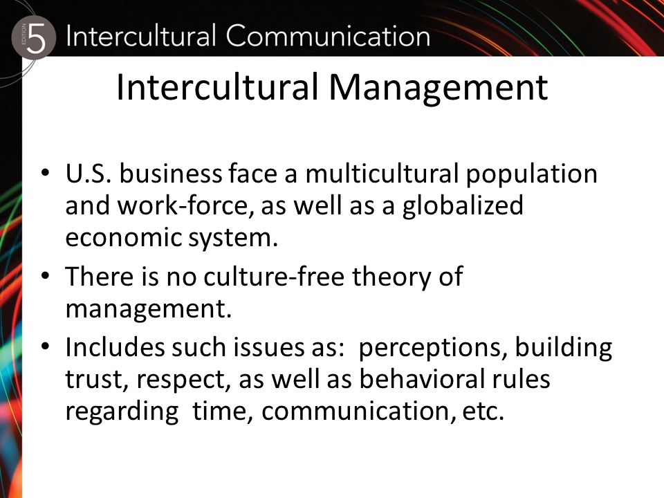 intercultural management a swedish example Intercultural communication with international business ma at university example module listing the international business management intercultural.