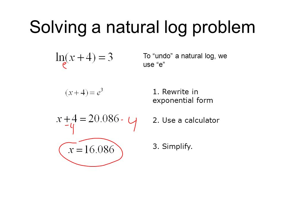 natural log into exponential form - ecza.productoseb.co