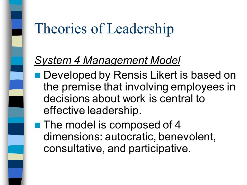 applying leadership theories 3 Applying leadership theories essay john hunsinger grand canyon university eda-575 education leadership in a changing world december 17, 2014 on a cold.