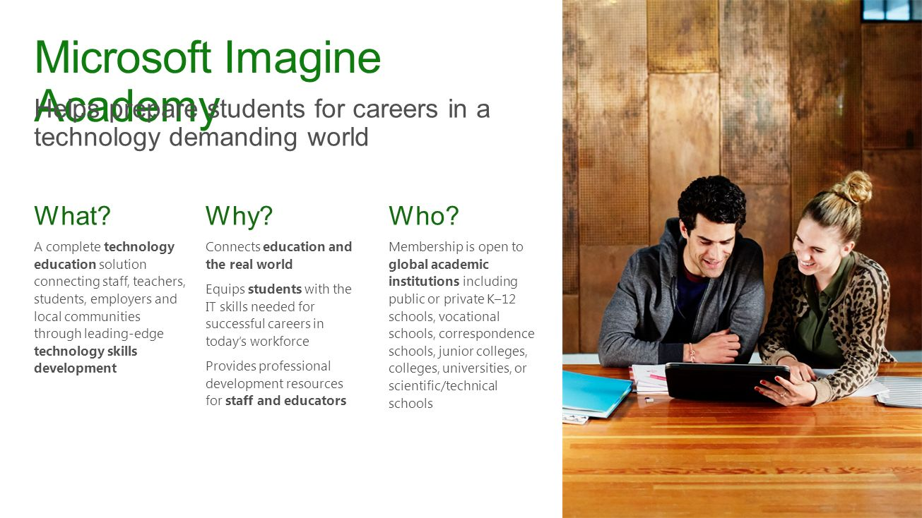 Microsoft imagine academy and microsoft certification ppt video 2 microsoft imagine academy 1betcityfo Images