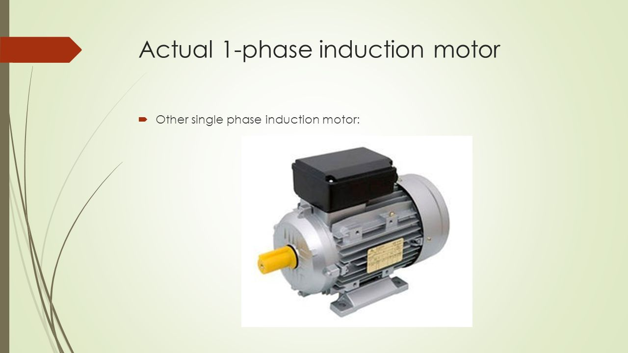 100 Single Phase Induction Motor Images Capacitor