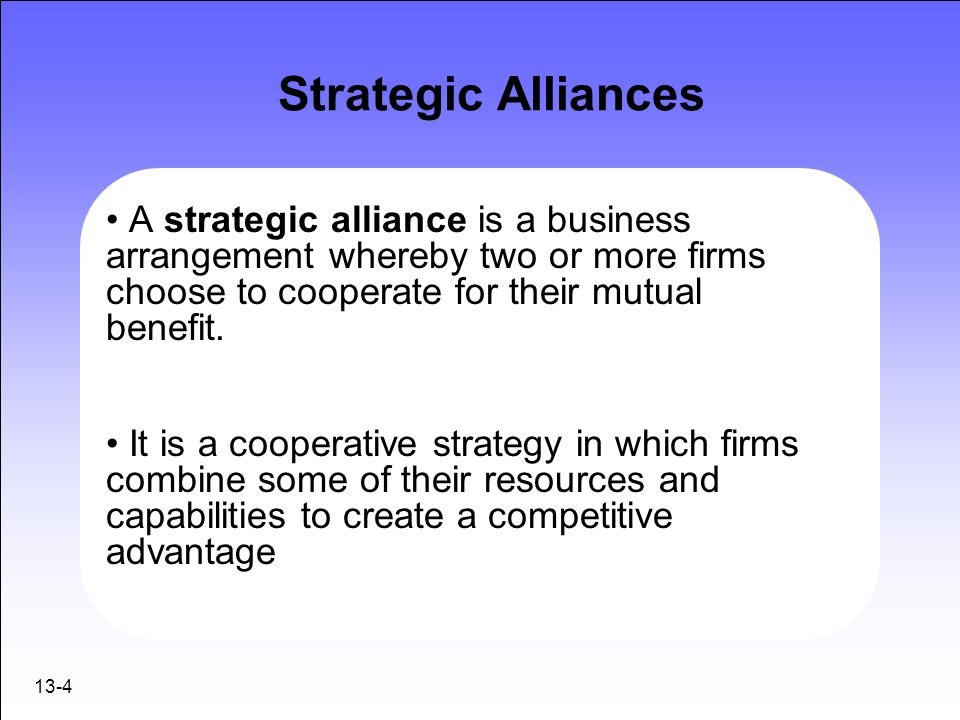 strategic alliances in business The global logic of strategic alliances  but managers have been slow to experiment with genuinely strategic alliances  the business software that made ibm.