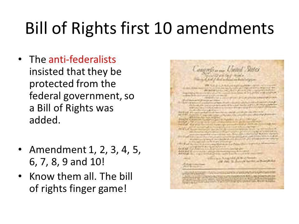 10 Amendments Bill of Rights - Bing images