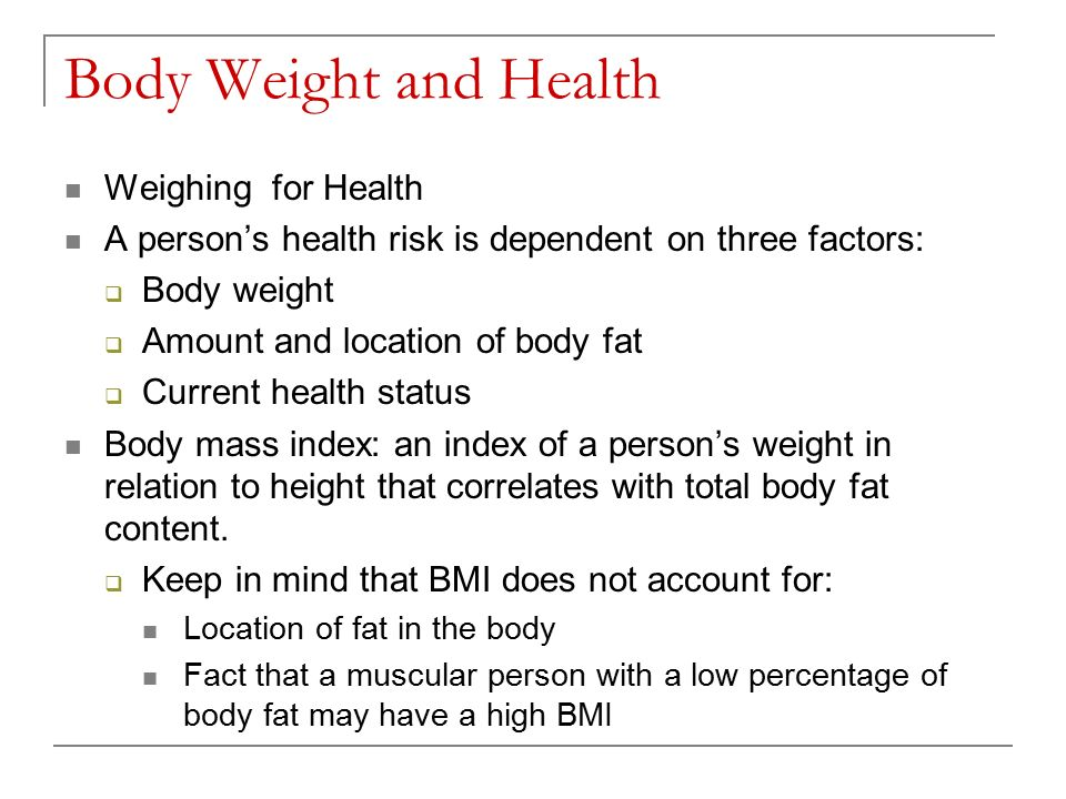 Chapter 9 Energy Balance and Weight Management