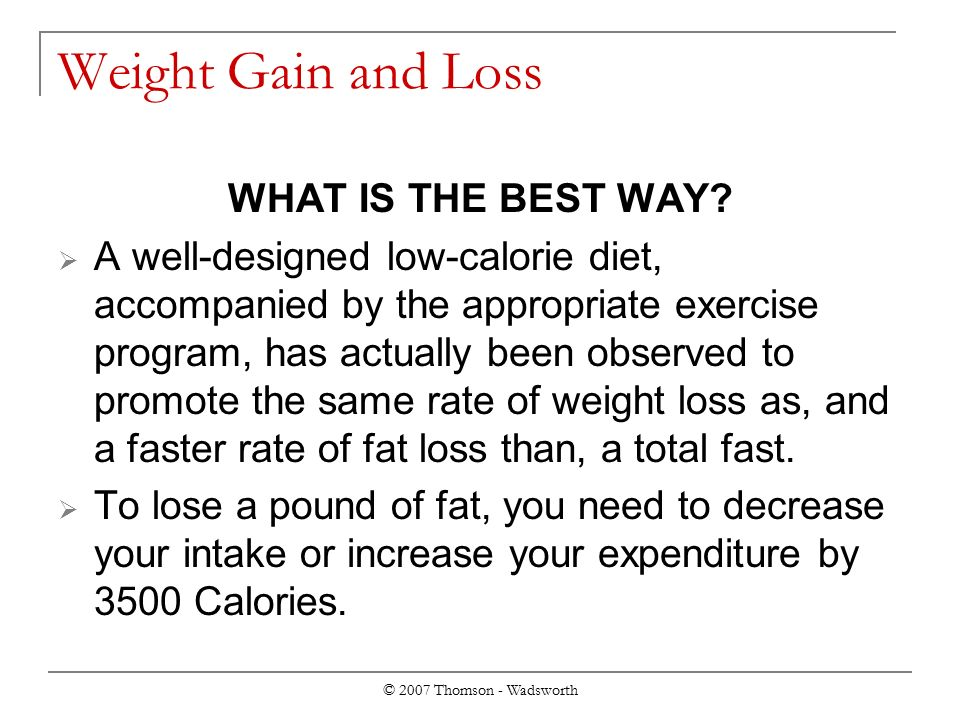Ways to improve fat burning