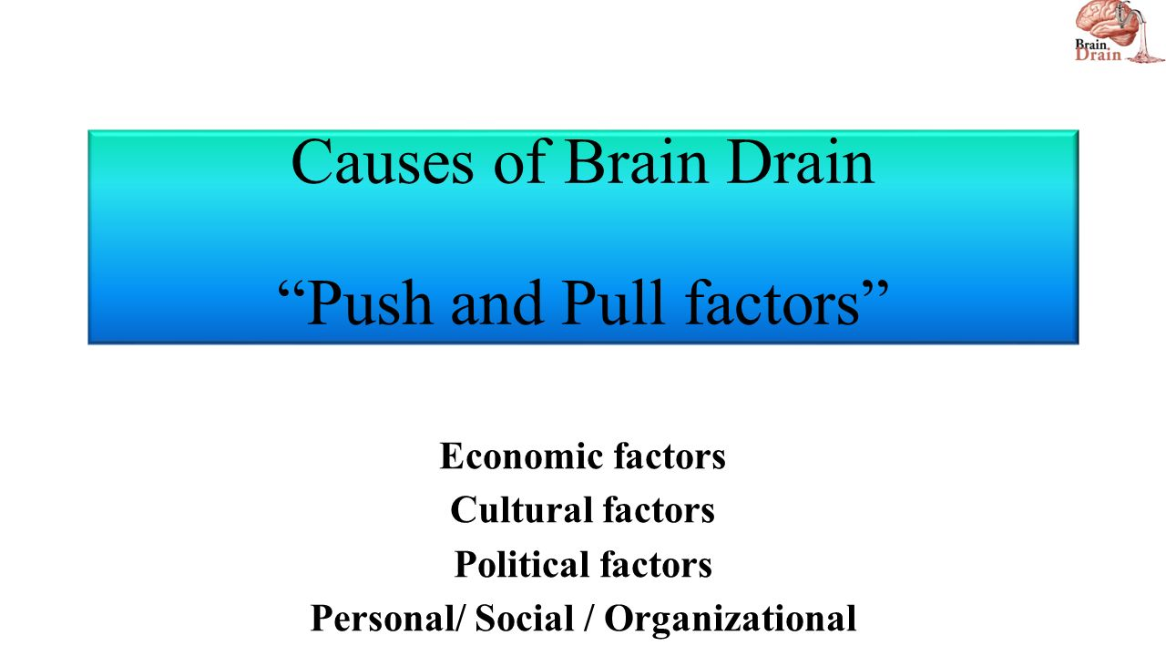 push and pull factors internationalisation