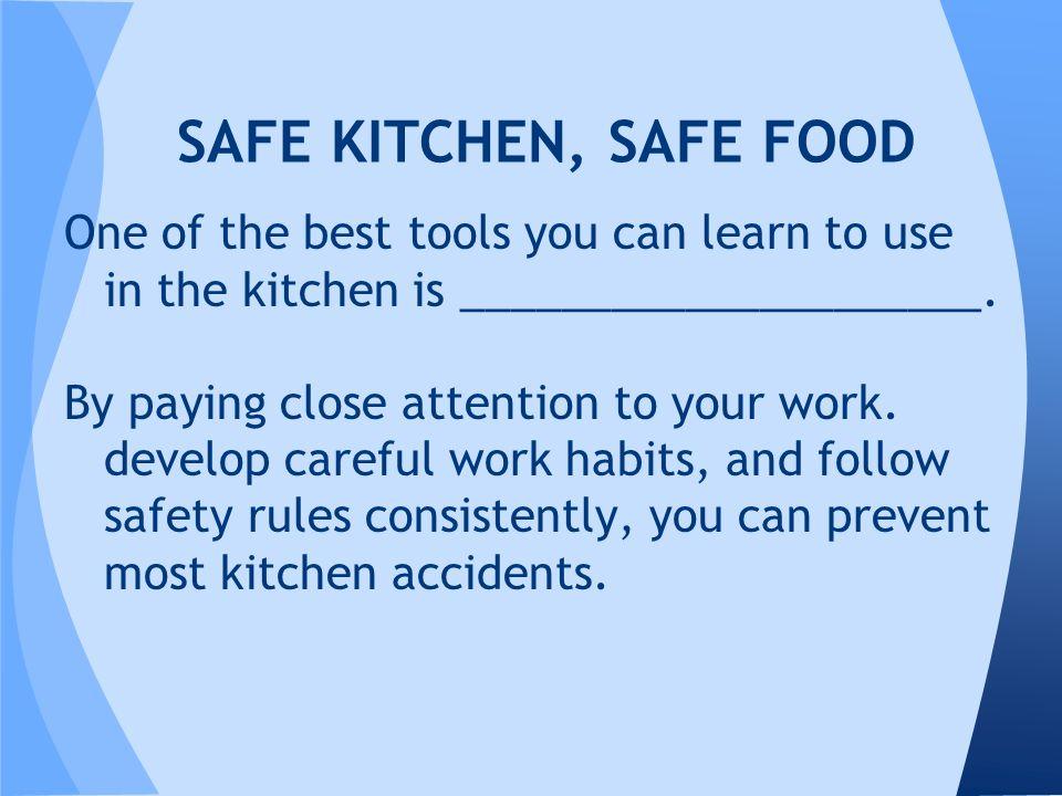 14 SAFE KITCHEN ...