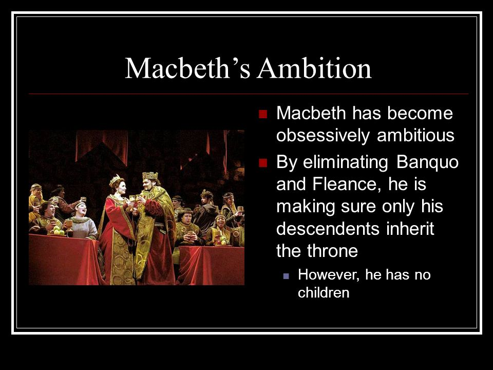 How does Macbeth's ambition lead him to his tragic demise in Shakespeare's Macbeth?