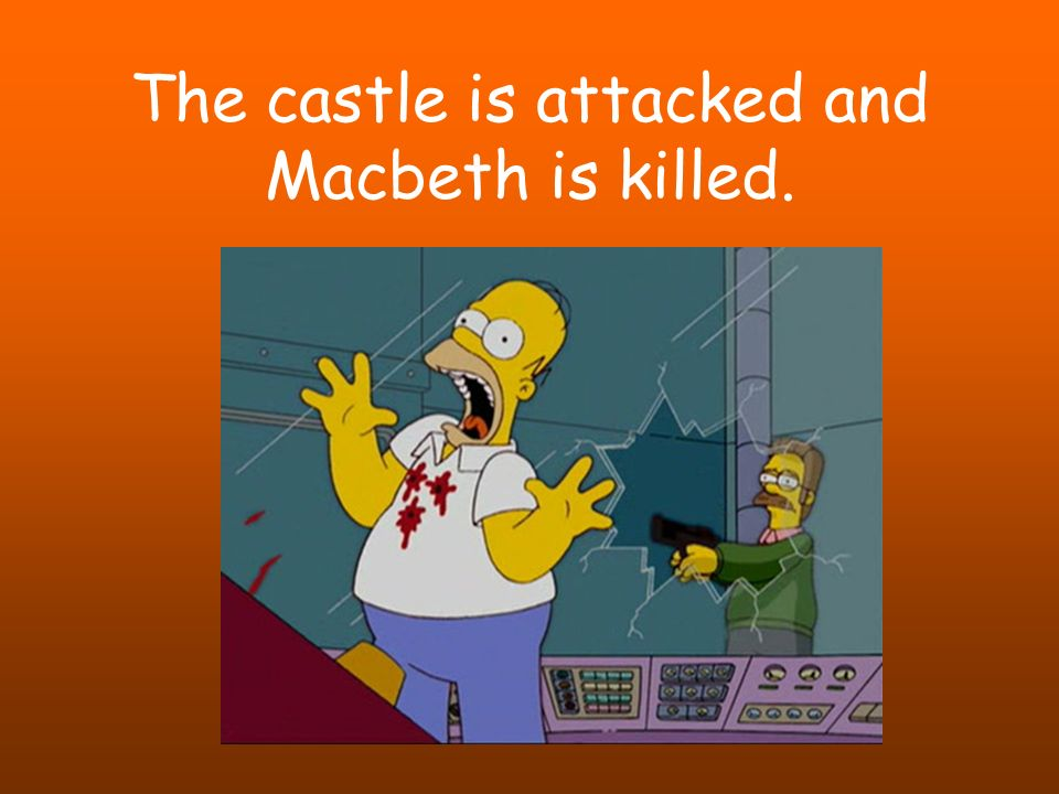 the choice of macbeth to kill or not to kill duncan The character of king duncan in macbeth from litcharts | the creators of then lady macbeth seems to relive her attempt to convince macbeth to kill duncan.