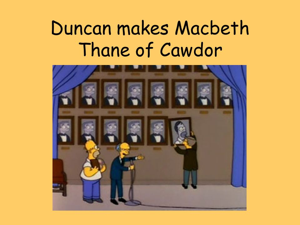 what makes duncan a good king Duncan is an intelligent, generous, trusting and simply, a good king  in  macbeth's case there is enough to make him consider killing his king, but not  enough.