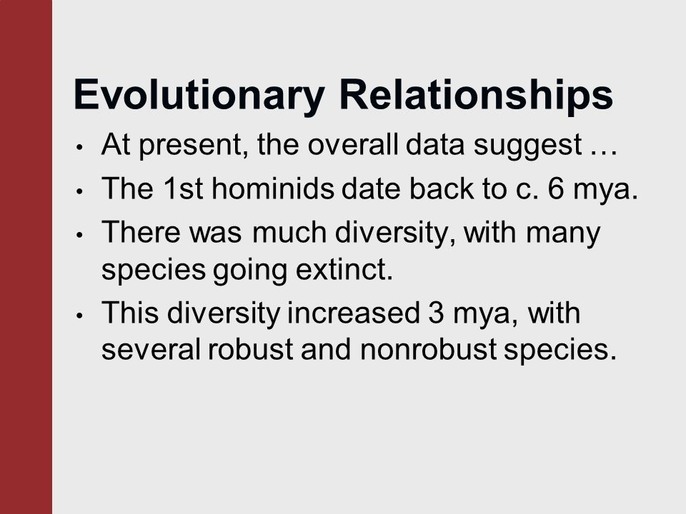 evolutionary diversification and the origin of diversity environment relationship
