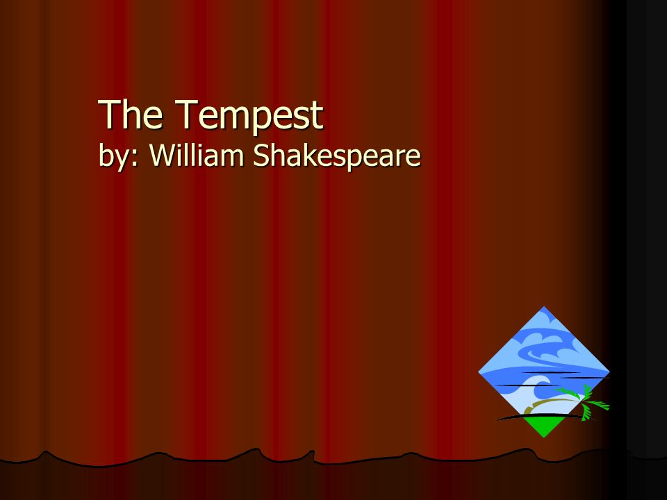 an analysis of the use of contrasts in the tempest by william shakespeare