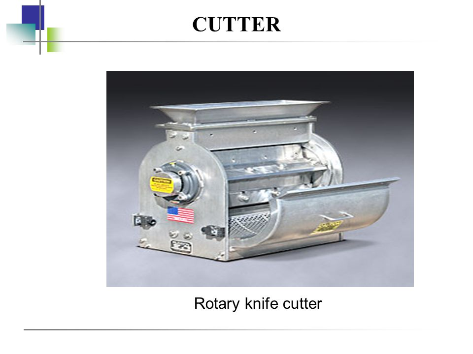 CUTTER Rotary knife cutter