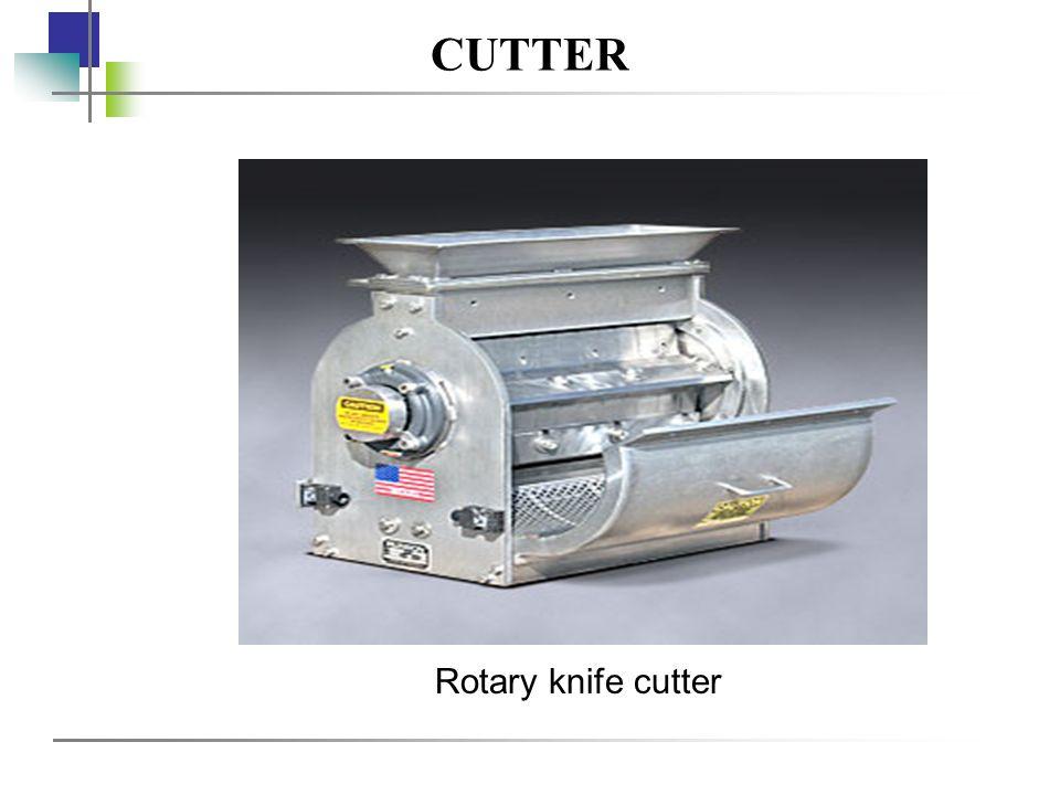 CUTTER Rotary knife cutter