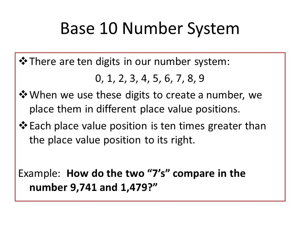 number system is used in it applications Decimal is a term that describes the base-10 number system commonly used by  lay people in the developed world.