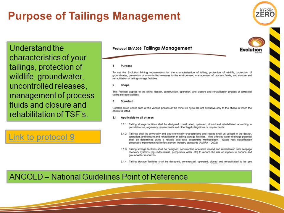 Tailings Dam Stability Ppt Video Online Download