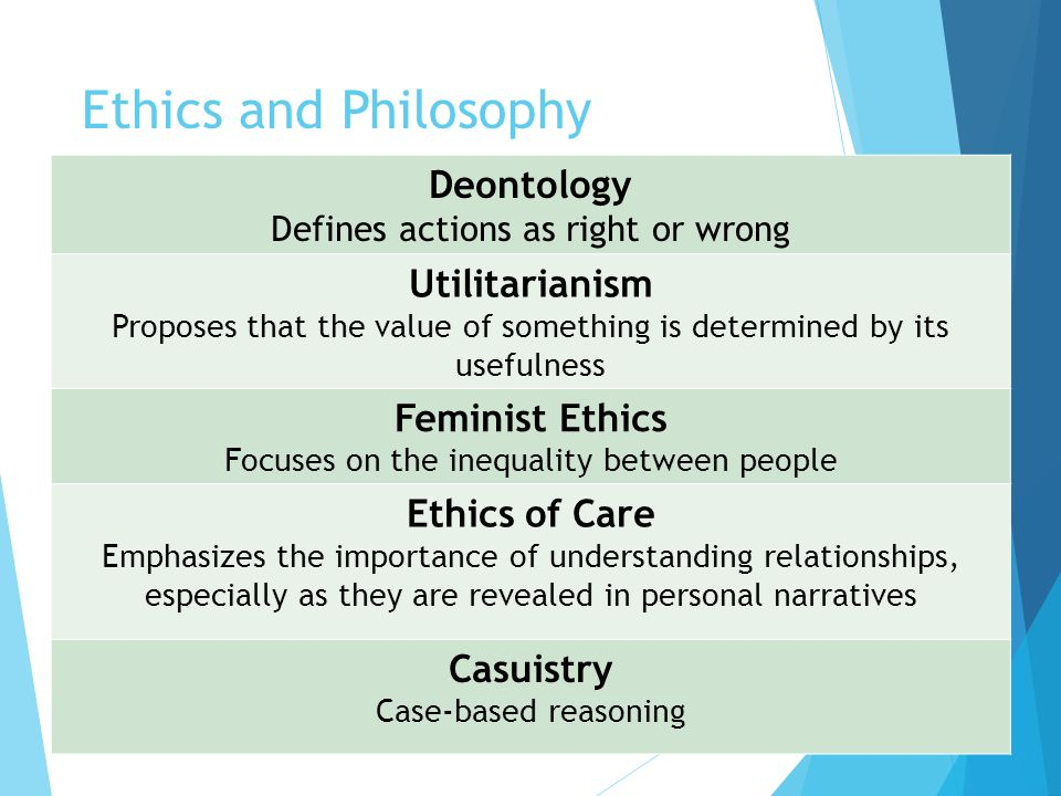 A Comparison: Consequentialism Vs. Deontology Vs. Virtue Ethics