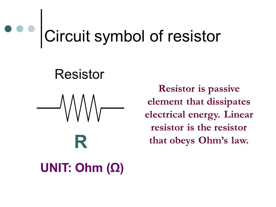 CHAPTER 1 – DET Introduction to electric circuit - ppt video online ...