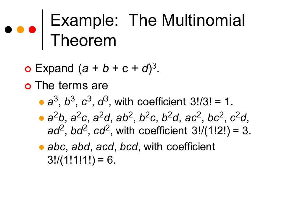 how to find multinomial coefficient