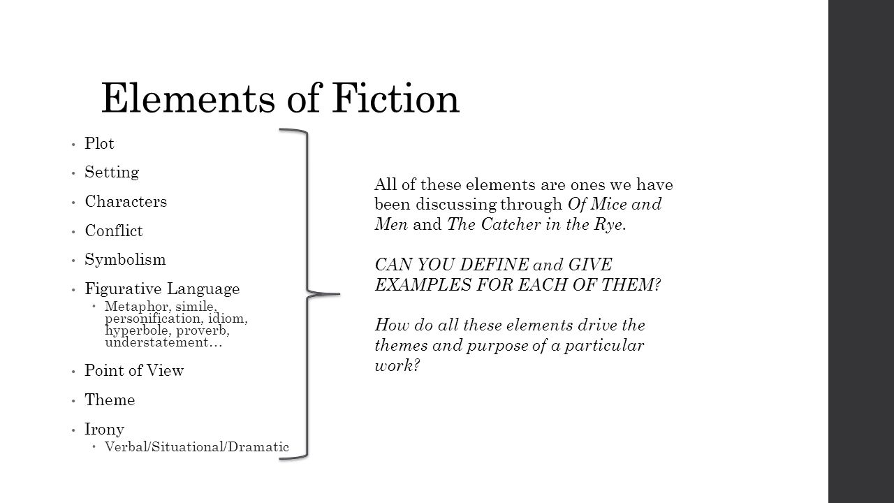 Symbolism in the catcher in the rye images symbol and sign ideas warm up reflect on your own writing ppt video online download elements of fiction plot setting buycottarizona