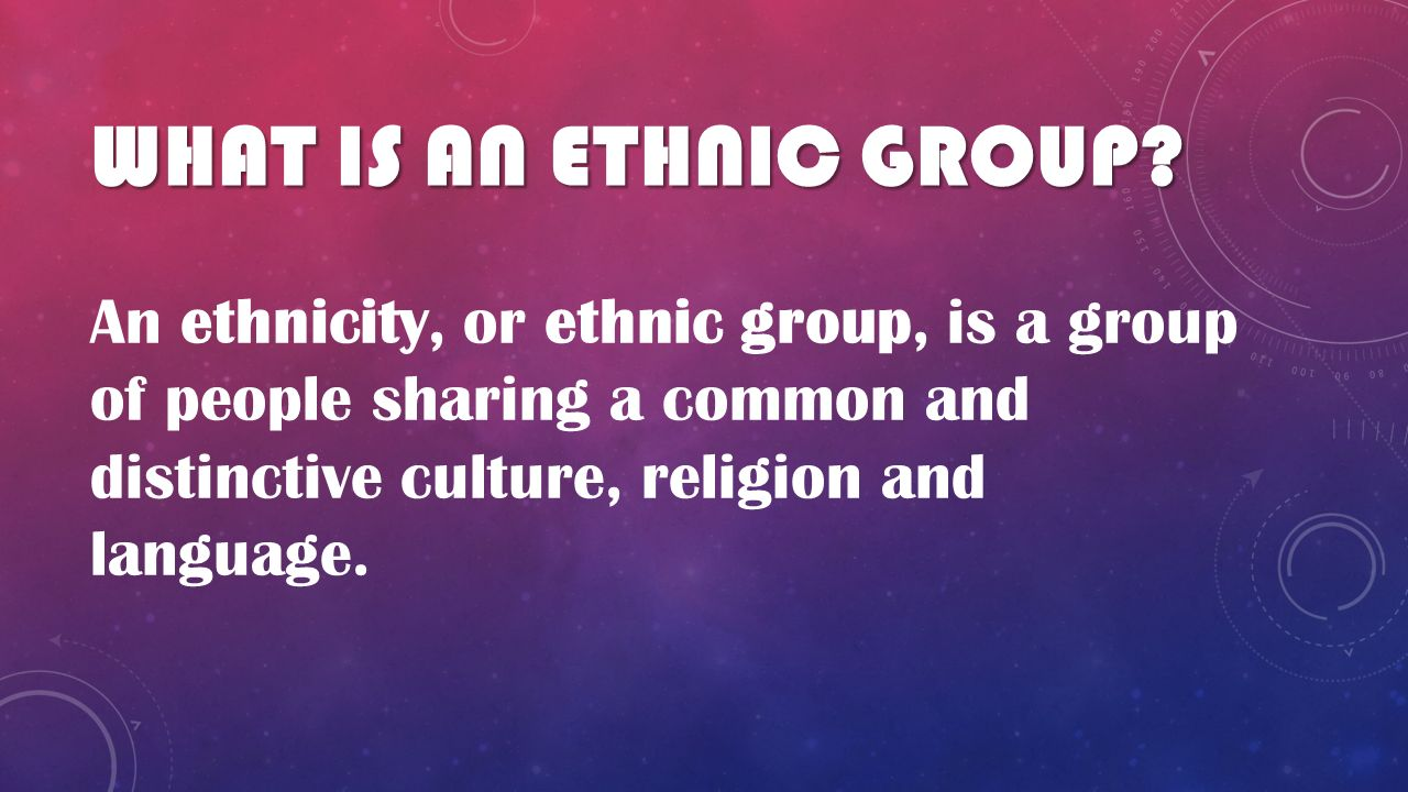 Ethnic Or Cultural Groups Ppt Video Online Download